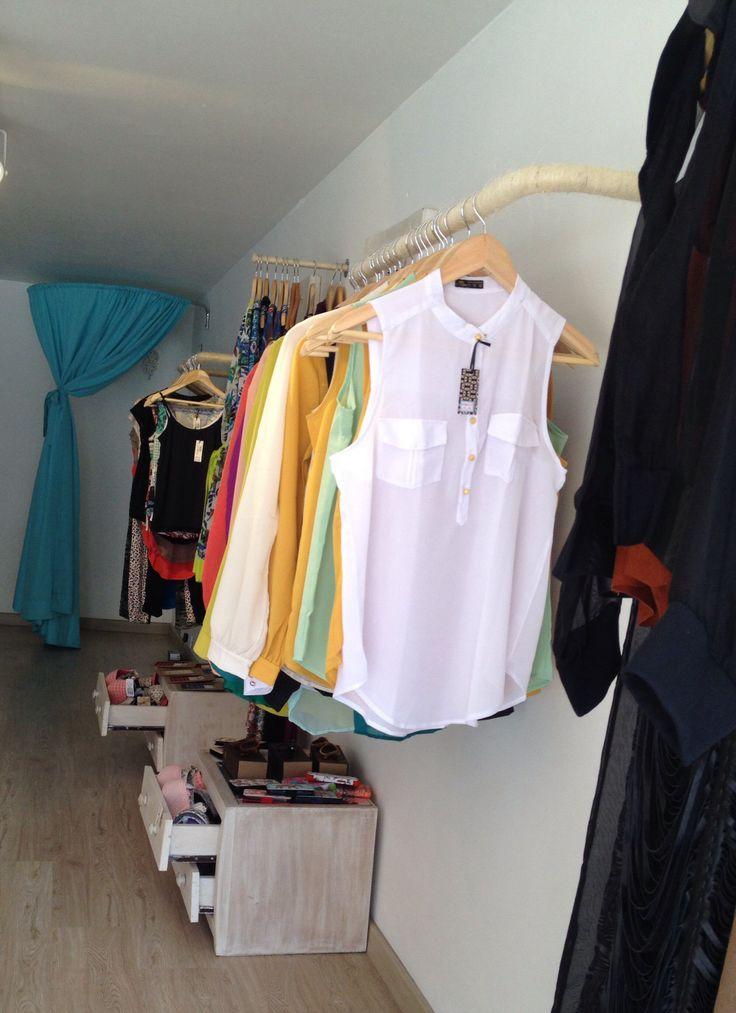Blusa manga sisa blanca