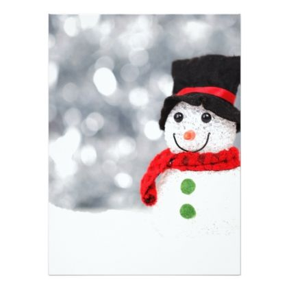 christmas-snow-snowman-decoration-40541 holiday card | Zazzle.com – Alexis Favs