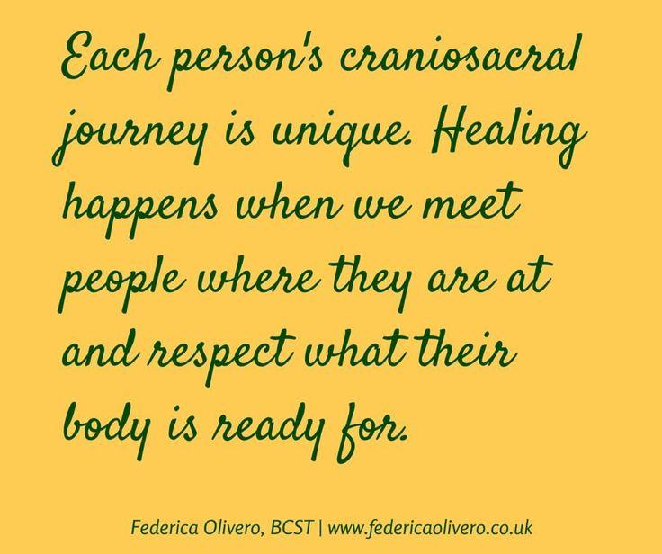 Each person's journey is unique..