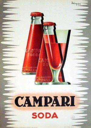 Campari Soda vintage poster