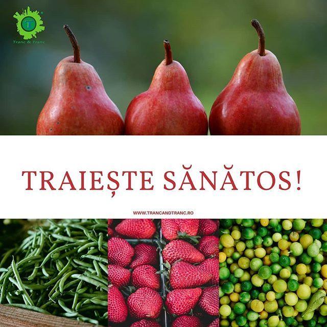Tu mananci sanatos?  #manancasanatos #mănâncăsănătos #eathealthy #eathealthyfood #fruits #vegetable #fructe #legume #ilovelife #lovelife #arad #TrancAndTranc