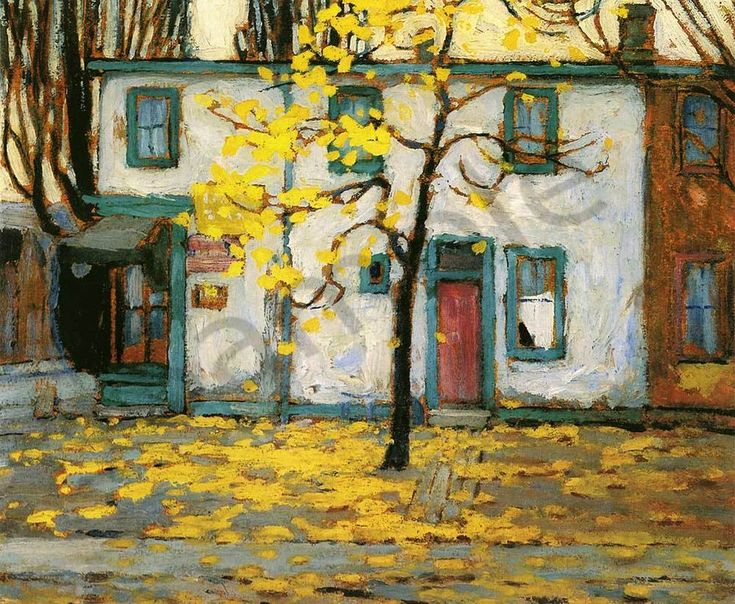 Lawren harris Toronto Street Houses