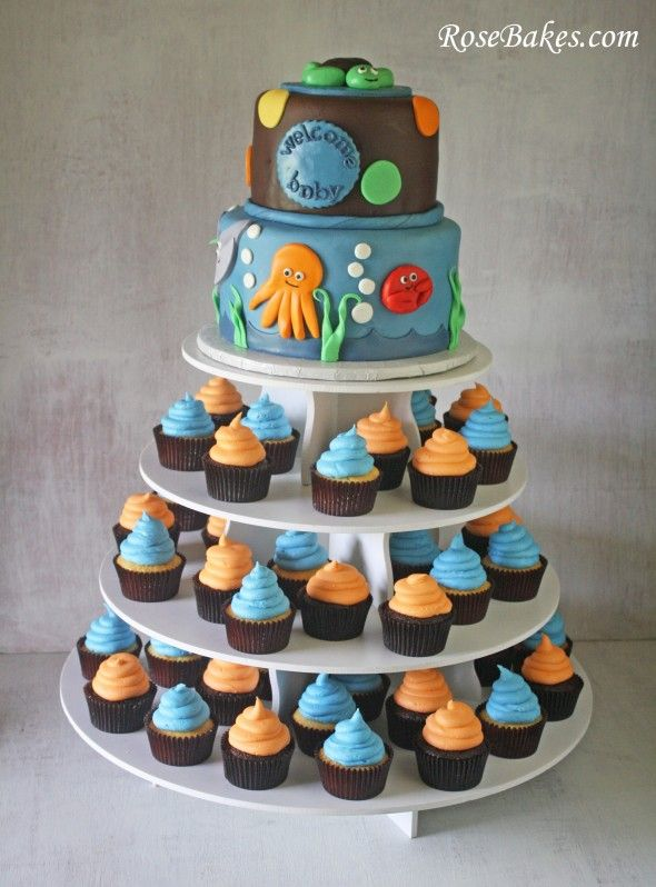 109 Best Under The Sea Theme Baby Shower Images On Pinterest | Recipes,  Birthday Party Ideas And Events