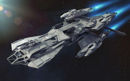 Star Citizen - Star Citizen / Squadron 42. The Vault. Техника. RSI Constellation