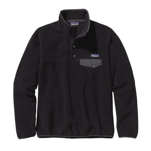 W's Lightweight Synchilla® Snap-T® Pullover, Black (BLK)