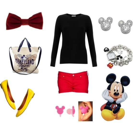 Disney World outfit...I want to wear a different Disney character or princess inspired outfit everyday I'm there..