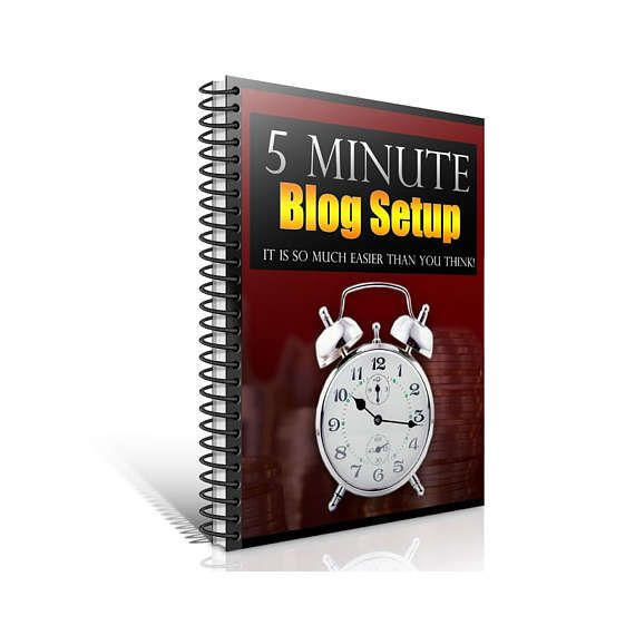 """Blogging and WordPress Ebook - """"5 Minute Blog Set Up: Get Your WordPress Blog Up - Fast!""""    You can have your WordPress blog installed and set up in 5 minutes or less!    -----------------------------------------------------------------------------    * Learn the insider secrets of installing WordPress in just seconds!     * Discover the most important things you must do when setting up your blog.       * Uncover the quick and easy ways to make posts and pages in no time flat!     * Find…"""