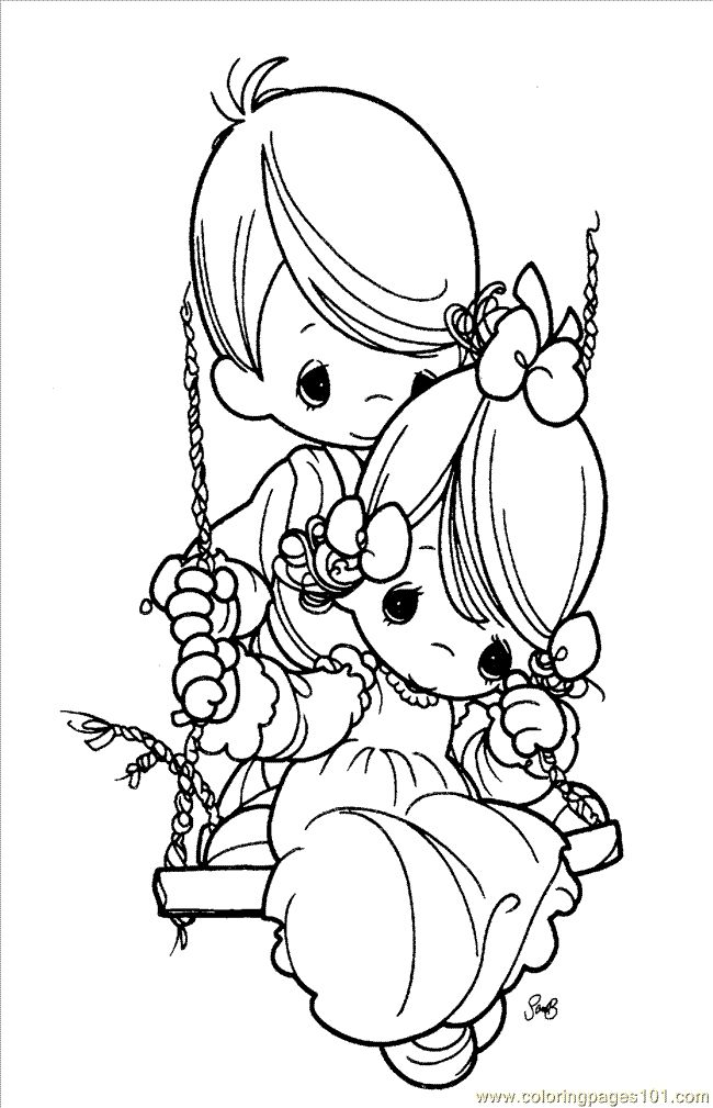 Find This Pin And More On Precious Moments Coloring Pages