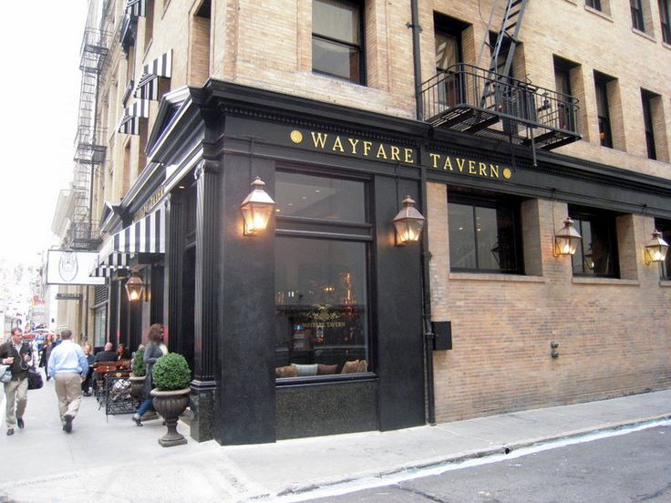 Tyler Florence's Wayfare Tavern in San Francisco's Financial District. Amazing food and great atmosphere!