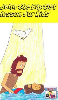 John the Baptist lesson