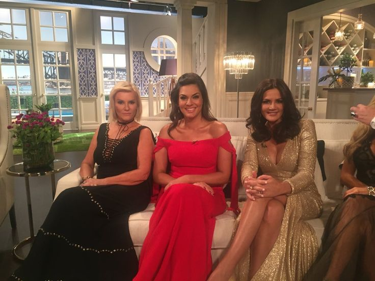 Victoria Rees, Nicole O'Neil and Krissy Marsh at The Real Housewives of Sydney Reunion Special