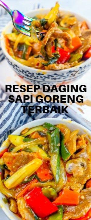 Resep Daging Sapi Goreng Terbaik  communication Tai herb meat strike fry recipe …