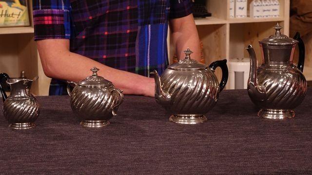 Kaffeeservice - Neusilber (German Silver)-Anfang 20.Jhdt/Fabrikware für den Gastronomiebedarf Schätzung
