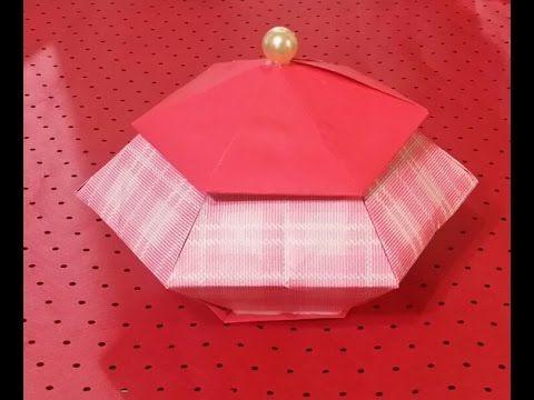 165.육각조립상자접기.종이접기.종이공예.오월의장미.origami.인형.퀼트.