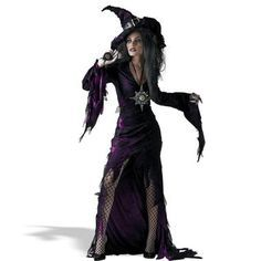 Watch out for her evil eye! Costume includes purple jagged edge dress with…