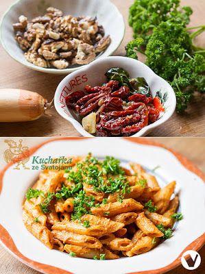 Kuchařka ze Svatojánu: OMÁČKA S OŘECHY