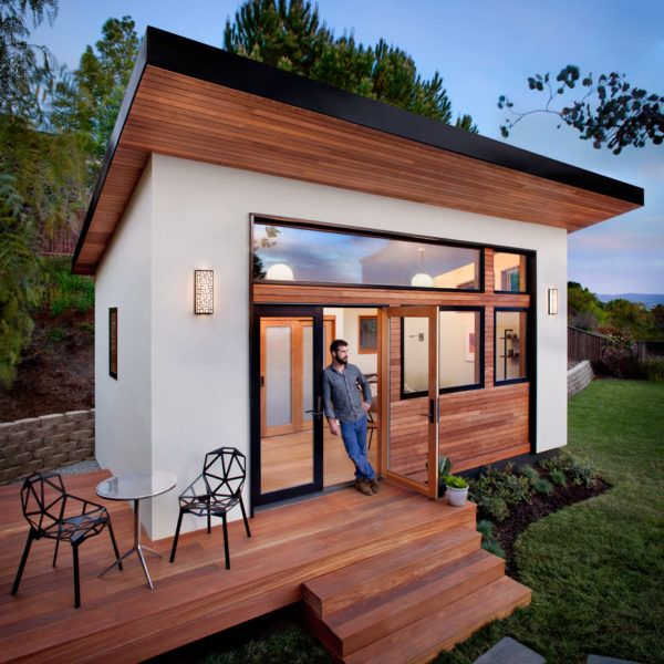 Avava Prefab Tiny House 002. Starts at $117,000, but here in the Bay Area, that's still a deal.