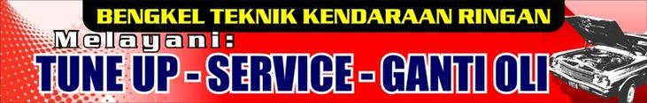 Contoh Banner Bengkel