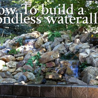 225 best images about ponds and waterfalls on pinterest for Garden waterfalls do it yourself
