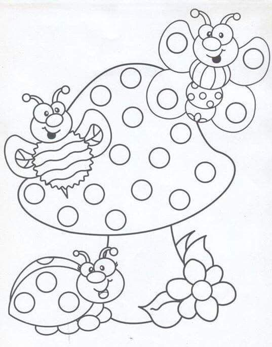 Professora Michelle: Desenhos para pintar com cotonetes   Pages ...