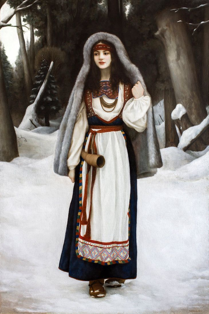 Snegurochka by Lasarasu.deviantart.com on @DeviantArt