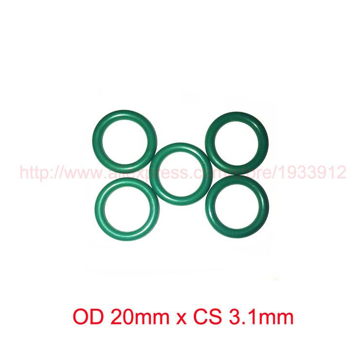 OD 20mm x CS 3.1mm viton fkm rubber sealing o ring oring o-ring