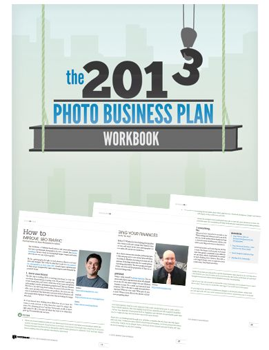 2013 Photo Business Plan Workbook - Free PDF http\/\/www - photography business plans