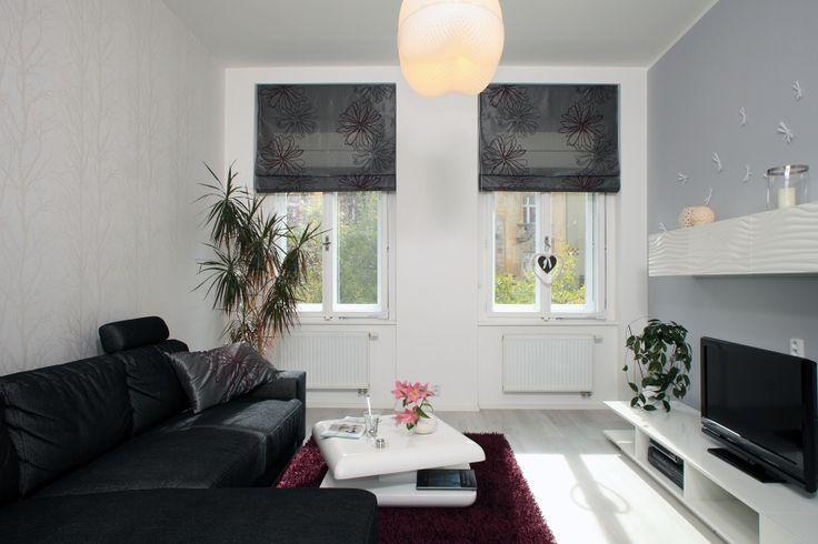 Living room designed by Kristina Proksova in Prague