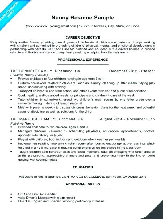 Resume Examples Housekeeping Maid Resume Sample Resume