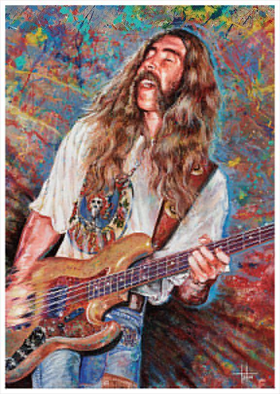 Berry Oakley by Tom Noll, Art That Rocks http://www.tomnoll.com/art-prints/