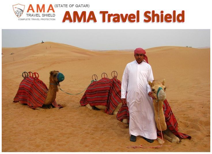 Travel Insurance in Qatar by AMA Travel Shield offers a wide range of plans with great flexibility to cater to different types of travels, i.e. single trips and multiple trips, or individual and group trips. For details call +97143619210.