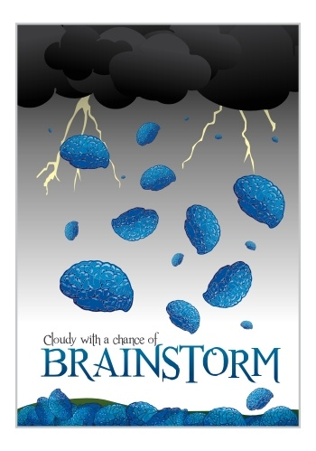 Cloudy with a chance of a brainstorm. www.artisan.si