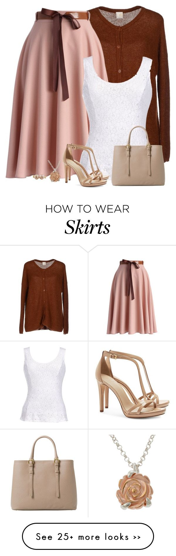 """belted skirt"" by divacrafts on Polyvore"