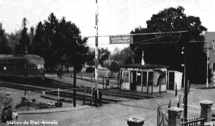 Oude station Almelo de Riet