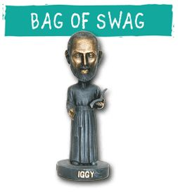 Celebrate the Feast Day of St. Ignatius with our weeklong series, Find Your Inner Iggy, where you can win an Iggy Bag of Swag!