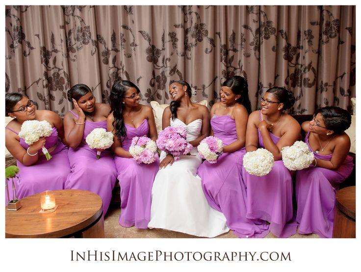Greensboro wedding photographer, Dajuan Jones of In His Image Photography, shares Melvin + Dawn's Proximity Hotel Wedding photos.