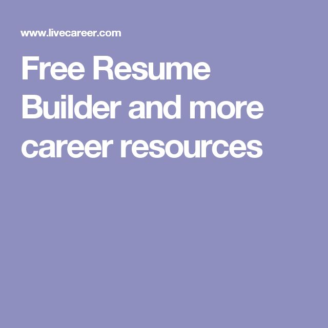 101 best My Resume building guide images on Pinterest Job - building my resume