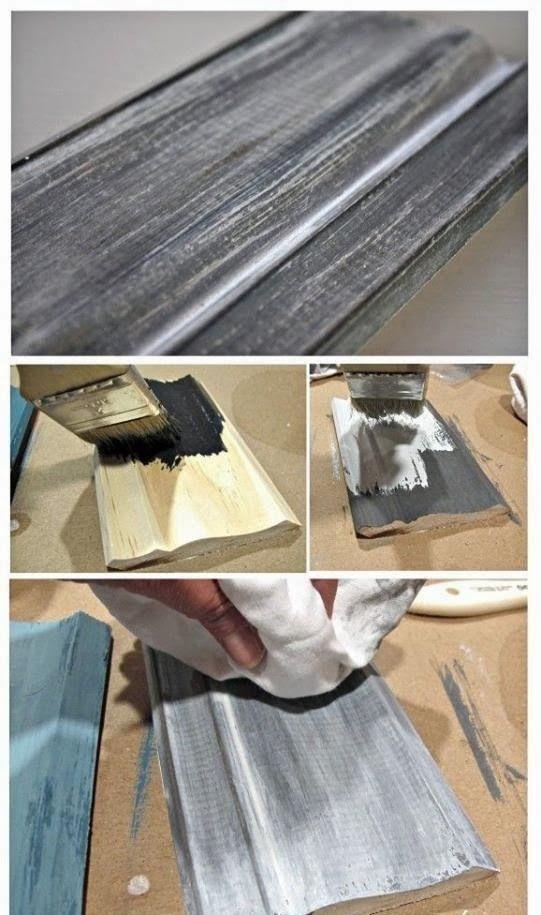 ahşap boyama teknikleri