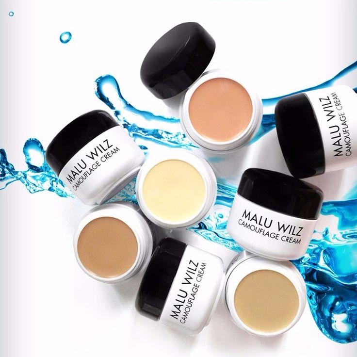 Malu Wilz Camouflage Cream Strong Coverage Concealer #1 #3 #4 #12 #MaluWilz