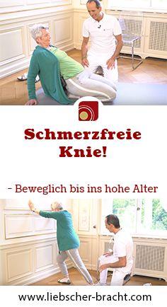 Das Geheimnis, um auch im Alter keine Knieschmerzen zu bekommen!