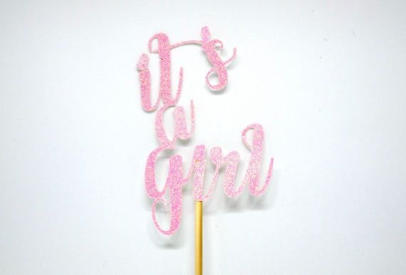Grand Opening saleBaby Girl cake topper Baby by VivisArtStudio
