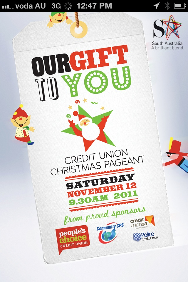 Credit Union Christmas Pageant of South Australia 2011