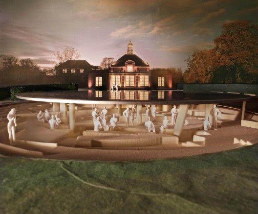 Herzog & de Meuron and Ai Weiwei's Serpentine Gallery Pavilion design revealed