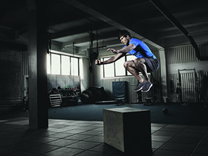 How high can you jump? Get that extra motivation and push with Jabra Sport Coach headphones and the Jabra Sport Life App!