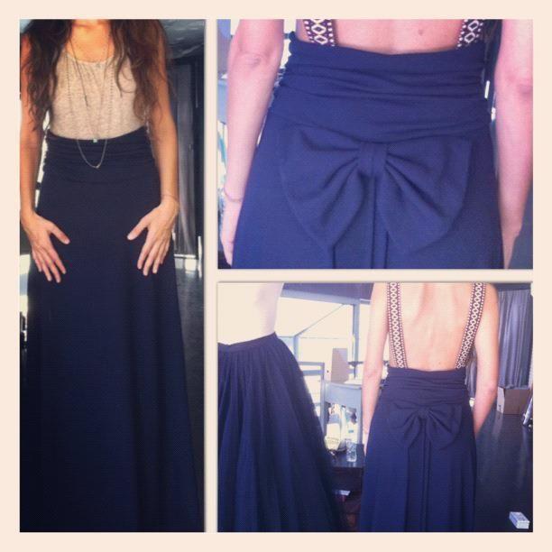 dafne maxi skirt