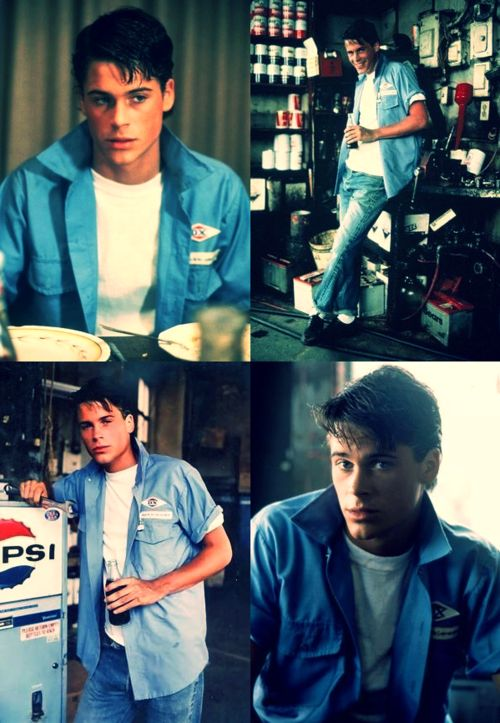 Soda Pop Curtis from The Outsiders.  P.s. What a babe.