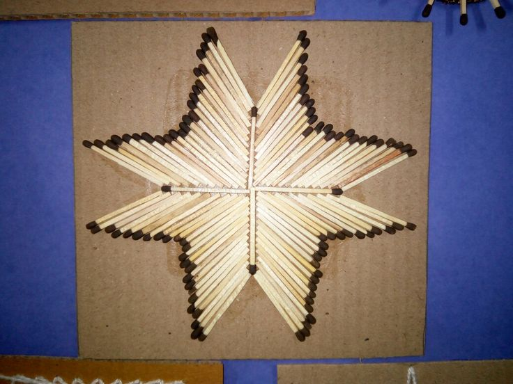 Geometric Design from waste material, best out of waste