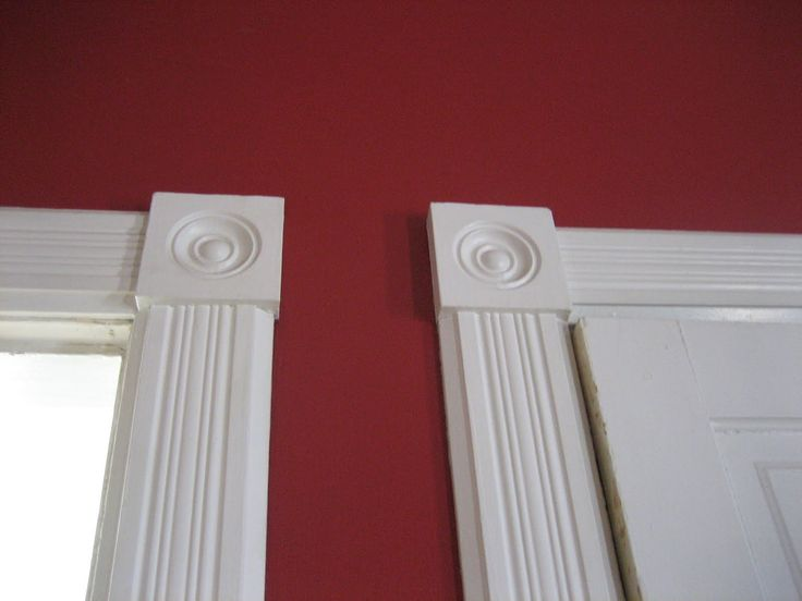 Door Trim Molding Styles | ... newel posts on our staircase are finished off with urn style finials