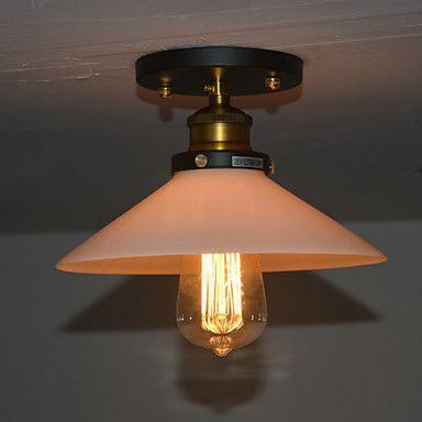 Goedkope Armatuur Inbouw Loft Vintage Edison Plafondlamp Lamp Voor Woonkamer Hal Loft Industriële Stijl, koop Kwaliteit plafondverlichting rechtstreeks van Leveranciers van China: specificatieslicht InformatieTypeInbouwkenmerkenMini StijlstijlVintage,traditionele/Classicafwerkingschilderenlich
