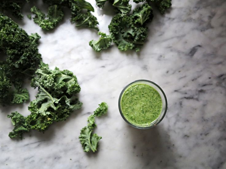 smoothie grönkål